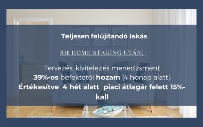Sikeres ingatlanbefektetés home staging-gel