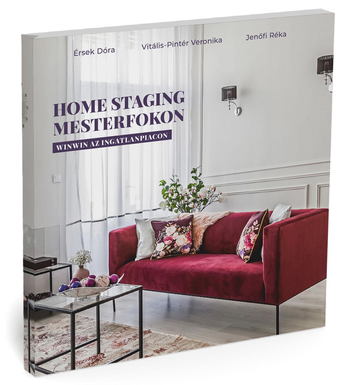első home staging könyv magyarul